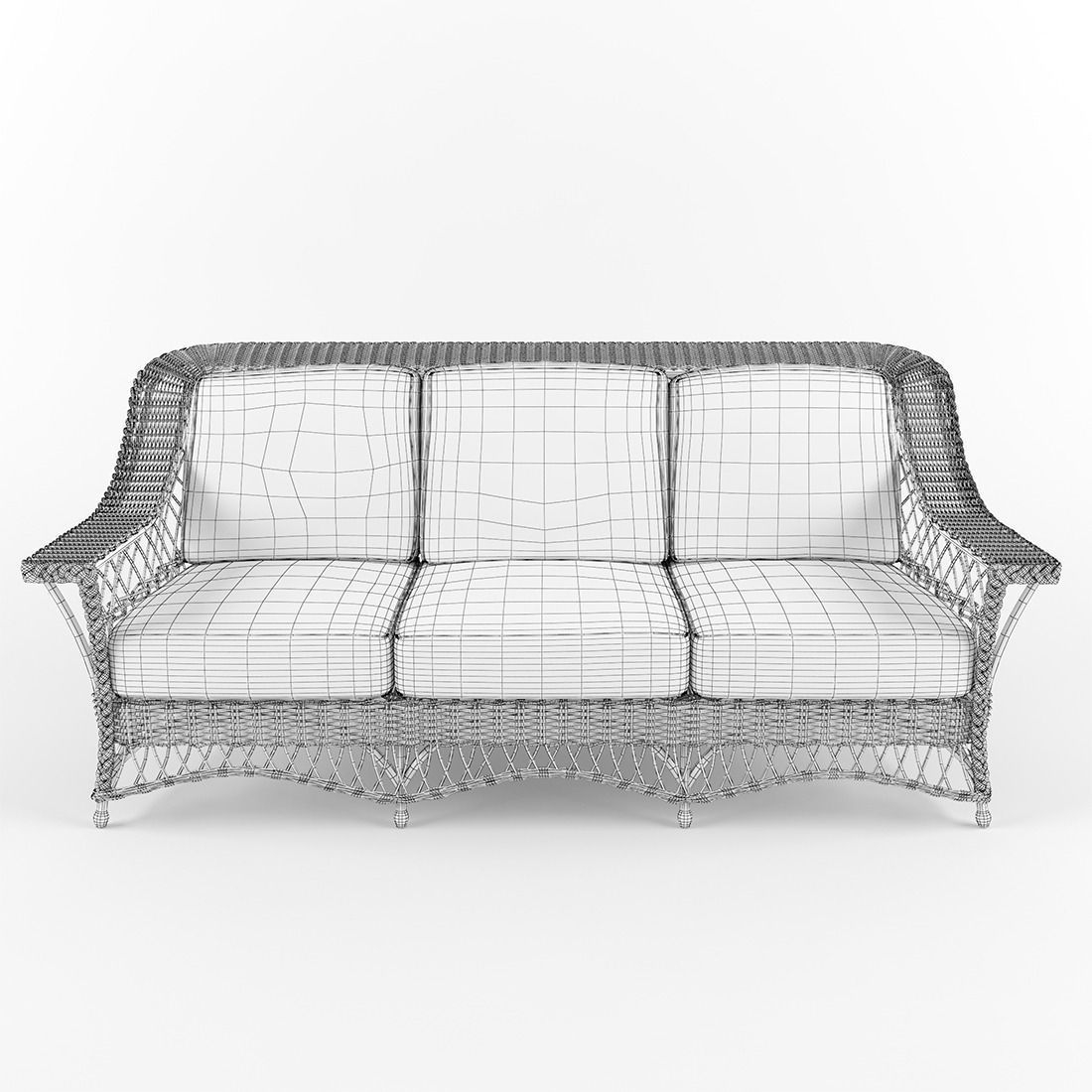 White Wicker Sofa St Lucia Outdoor Wicker Loveseat All About Thesofa