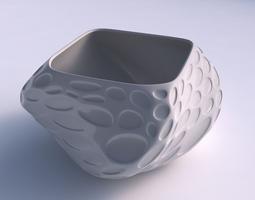 3d print model bowl helix with bubbles
