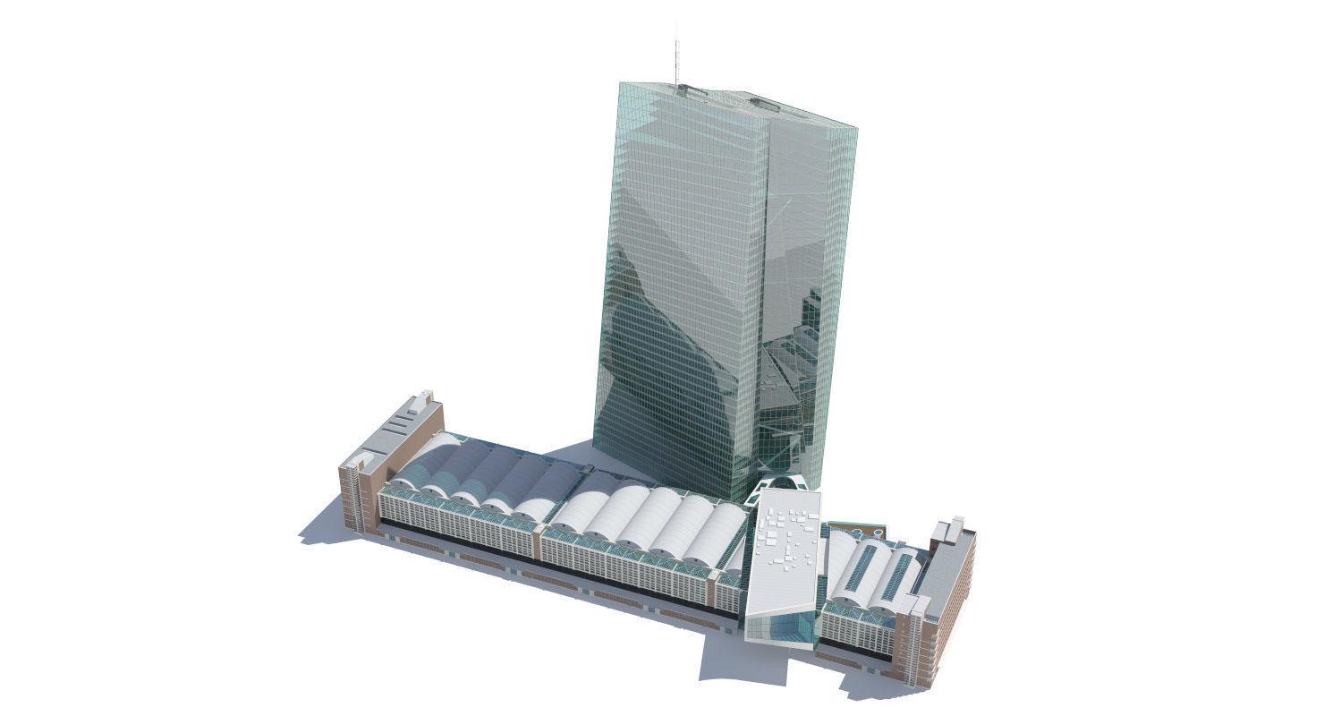 European Central Bank Building