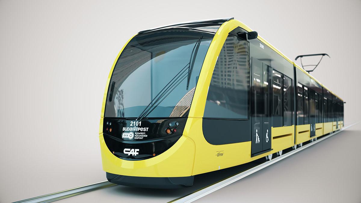 CAF Urbos tram 4k texture PBR ready