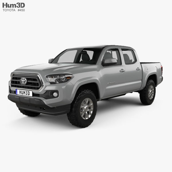 Toyota Tacoma Double Cab Short Bed SR5 2014