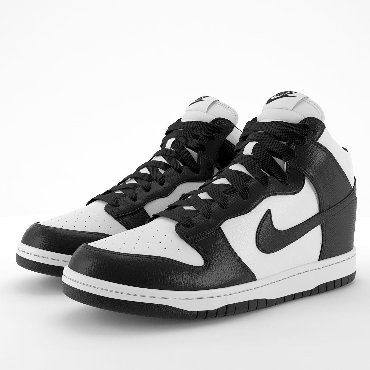Nike Dunk High Black PBR