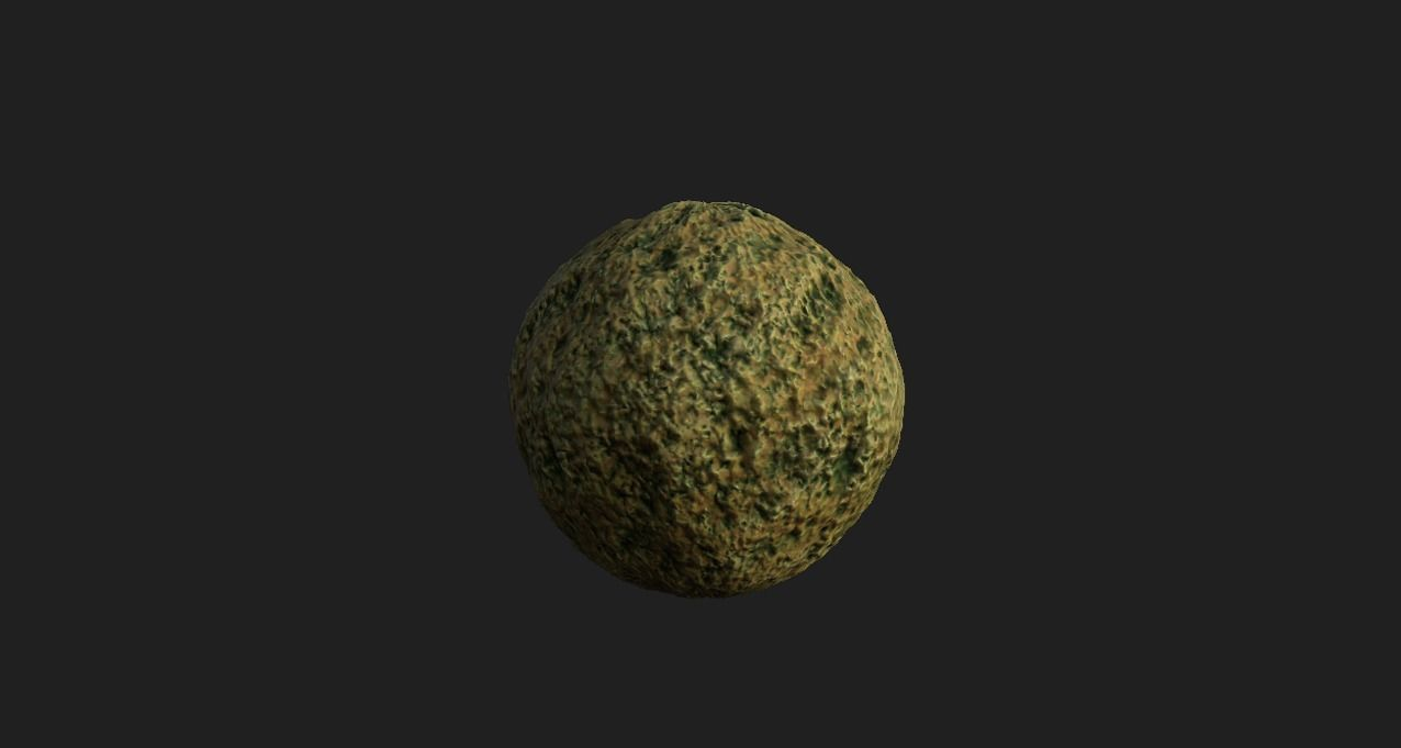 Rough stone ground 4K PBR texture material