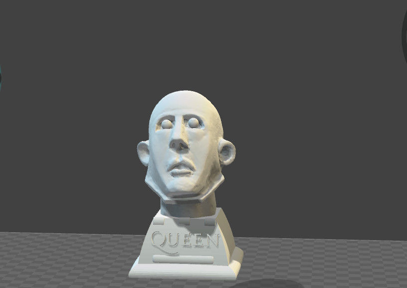 Frank the robot QUEEN tribute headbust paperweight