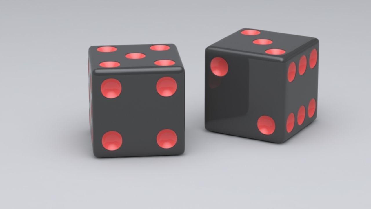 game dice -cube