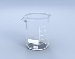 beaker flask 3d model