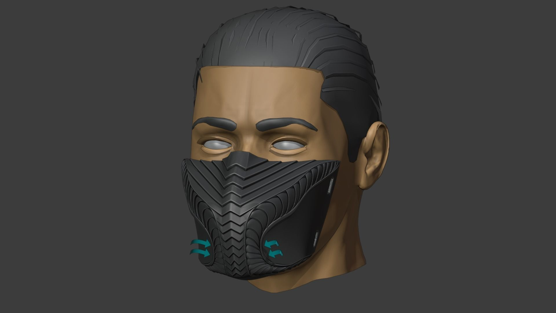 Viper mask with a protective filter