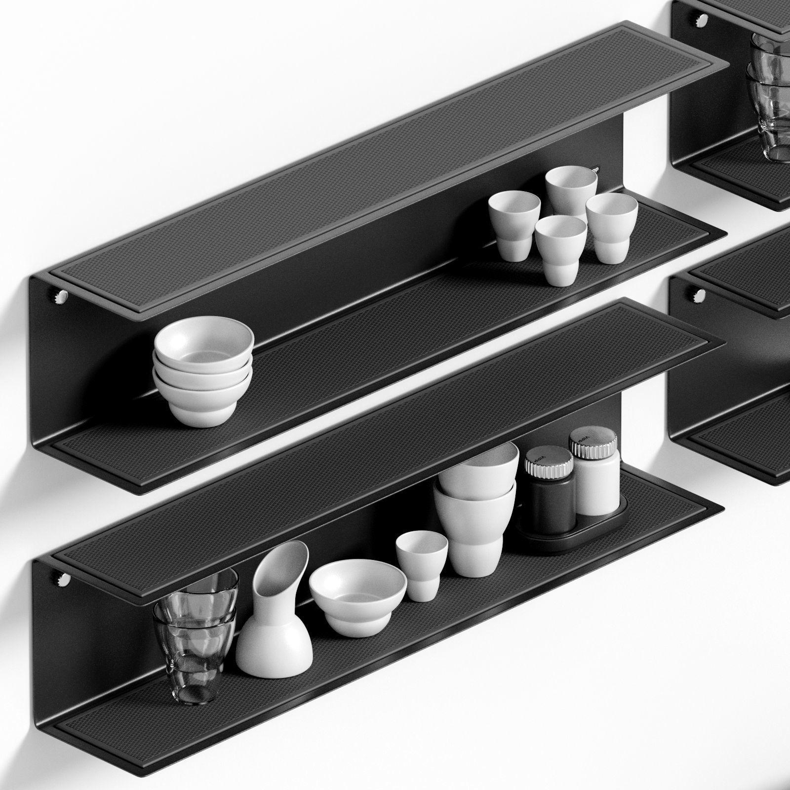 Vipp Shelves and original accessories