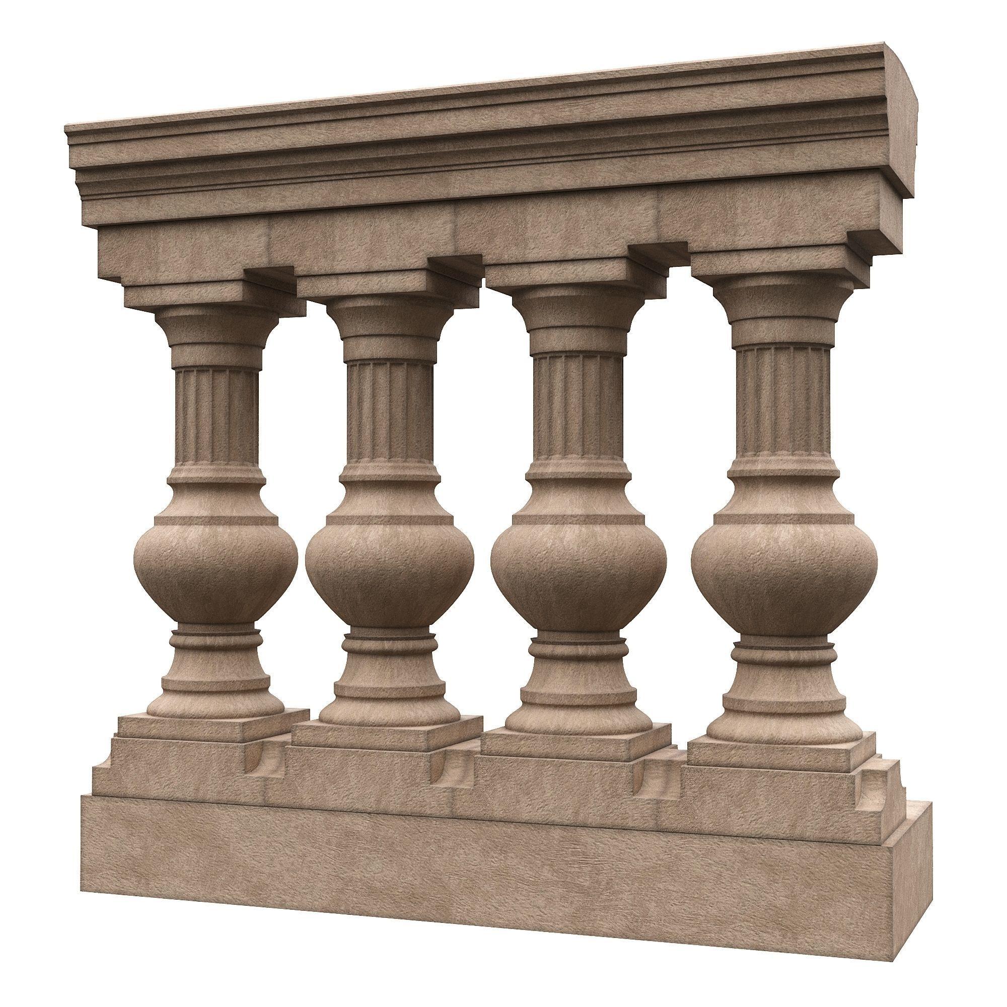 Stone balustrade 09