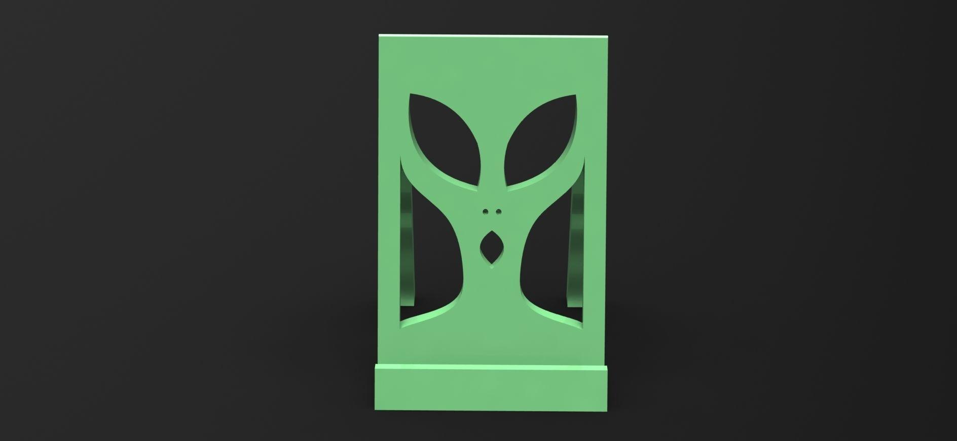 Alien Phoneholder