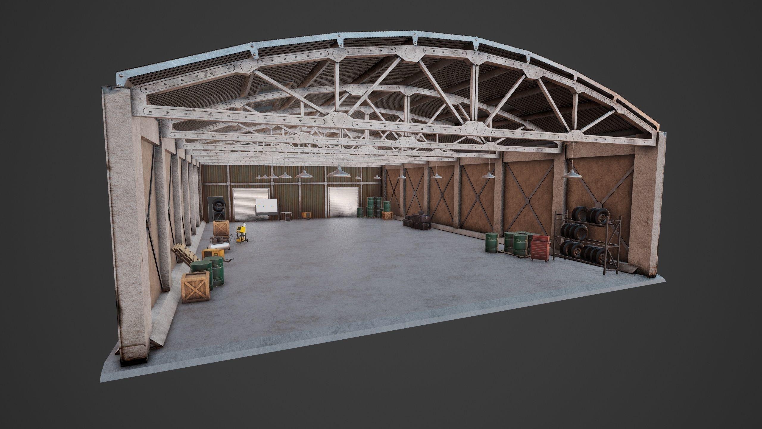 Hangar Multiprop PBR