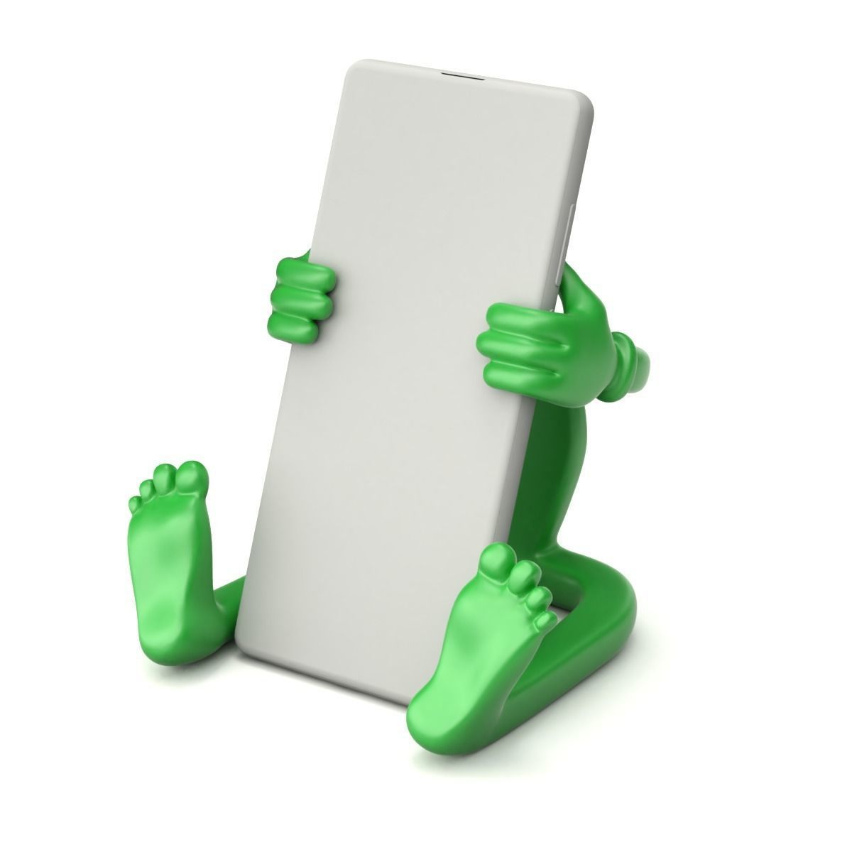 Cartoonish Mobile Holder