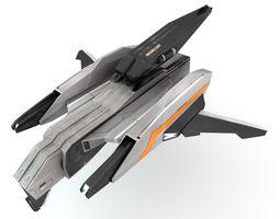 Sci-Fi - Aircraft - Iron 031 3D model