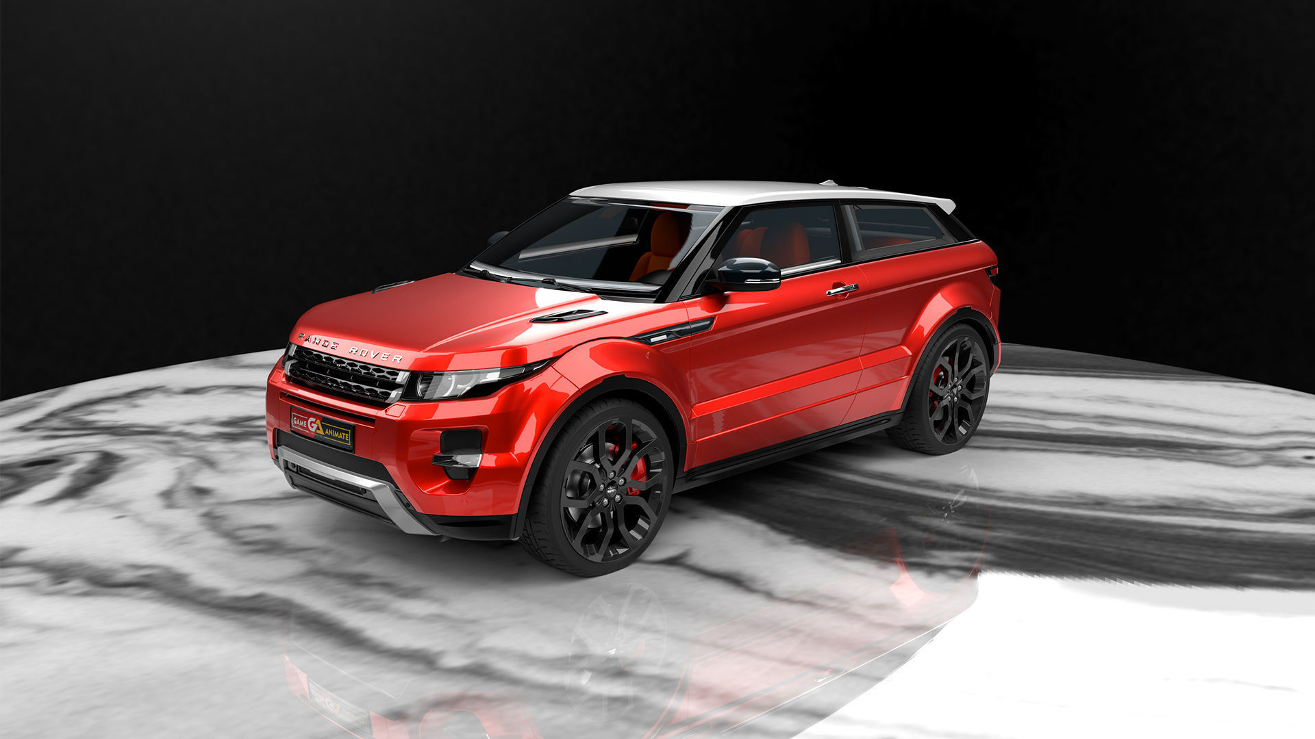 Range Rover Evoque  Realistic 3D Car Model