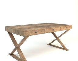 Rustic Desk 3D