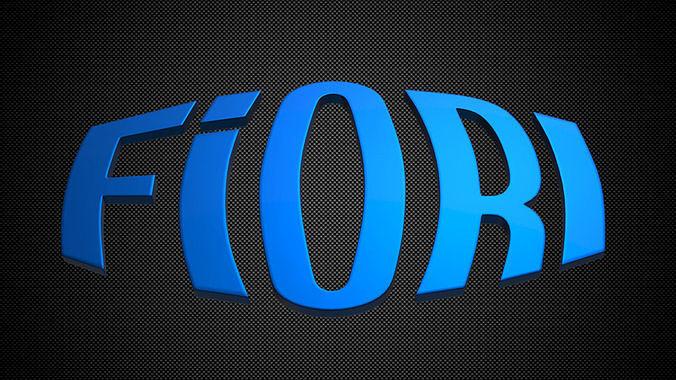 Fiori 3ds.3d Fiori Logo Cgtrader