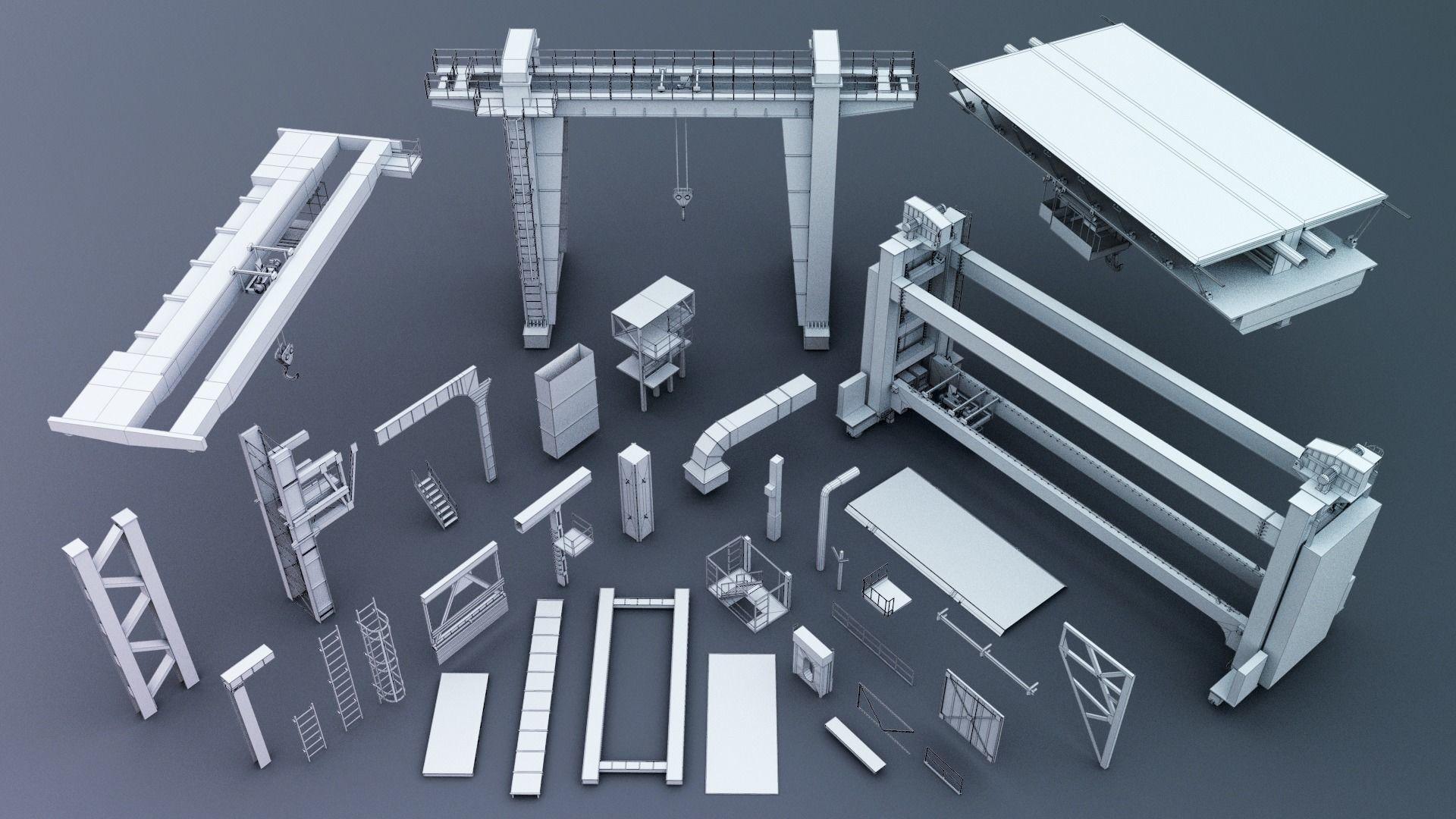 Industrial kitbash