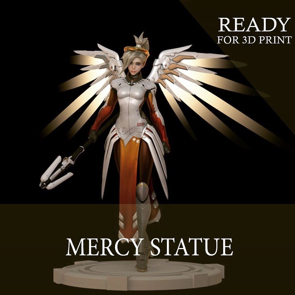 Mercy Statue for 3D Print