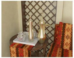 arabic 3D ARABIC COFFEE POT