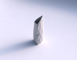 vase tipped triangle with triangle plates 3d printable model