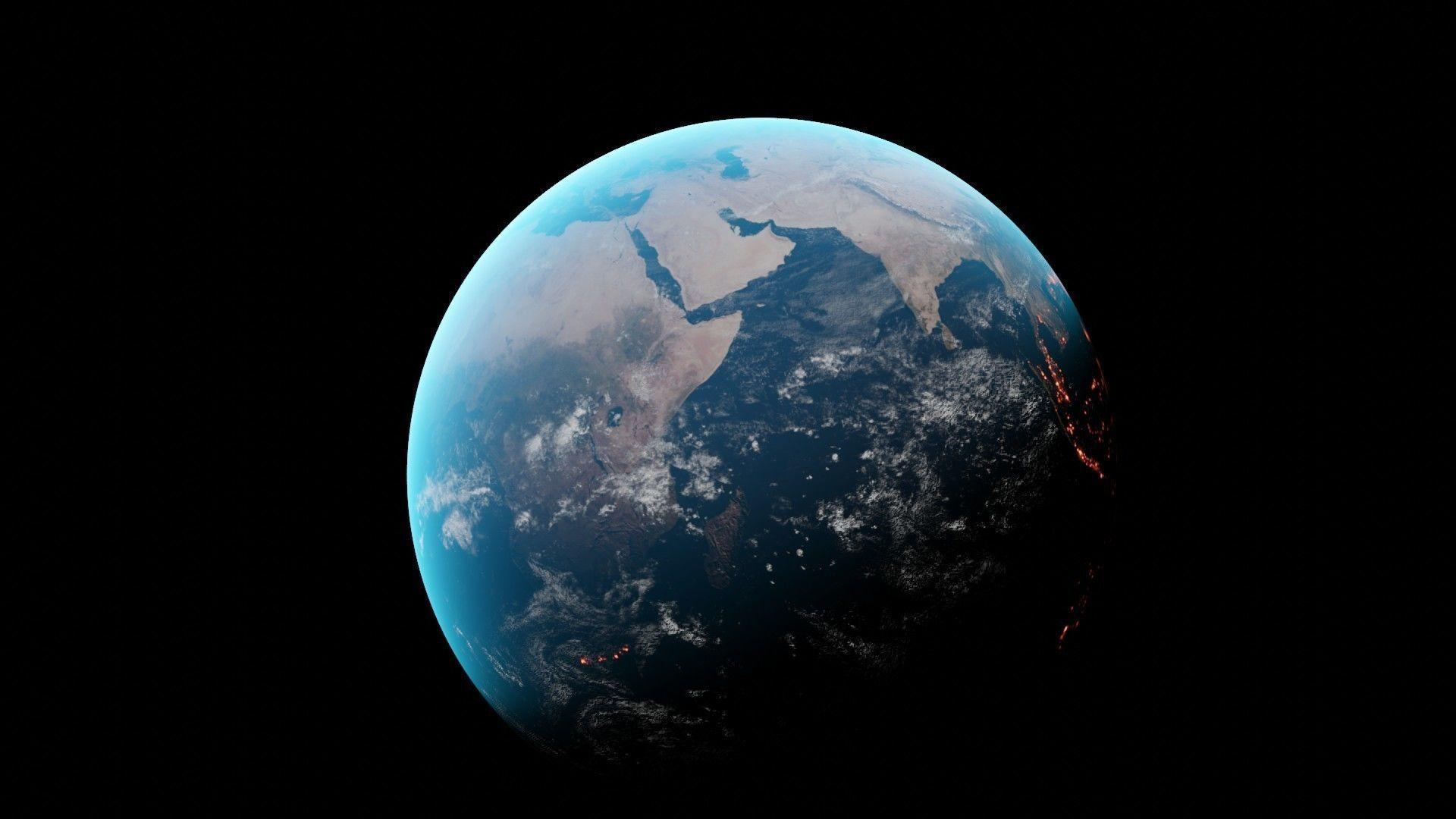 Earth photorealistic