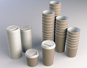 Coffee Cup Take Away 3D model