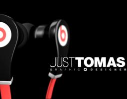 3d model beats headphones