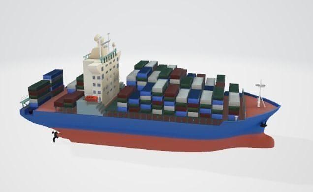 Ocean Freighter