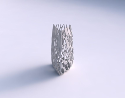 3D printable model Vase triangle