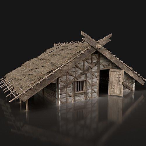 Viking Basic House Cottage Hut Northern Village Next Gen AAA