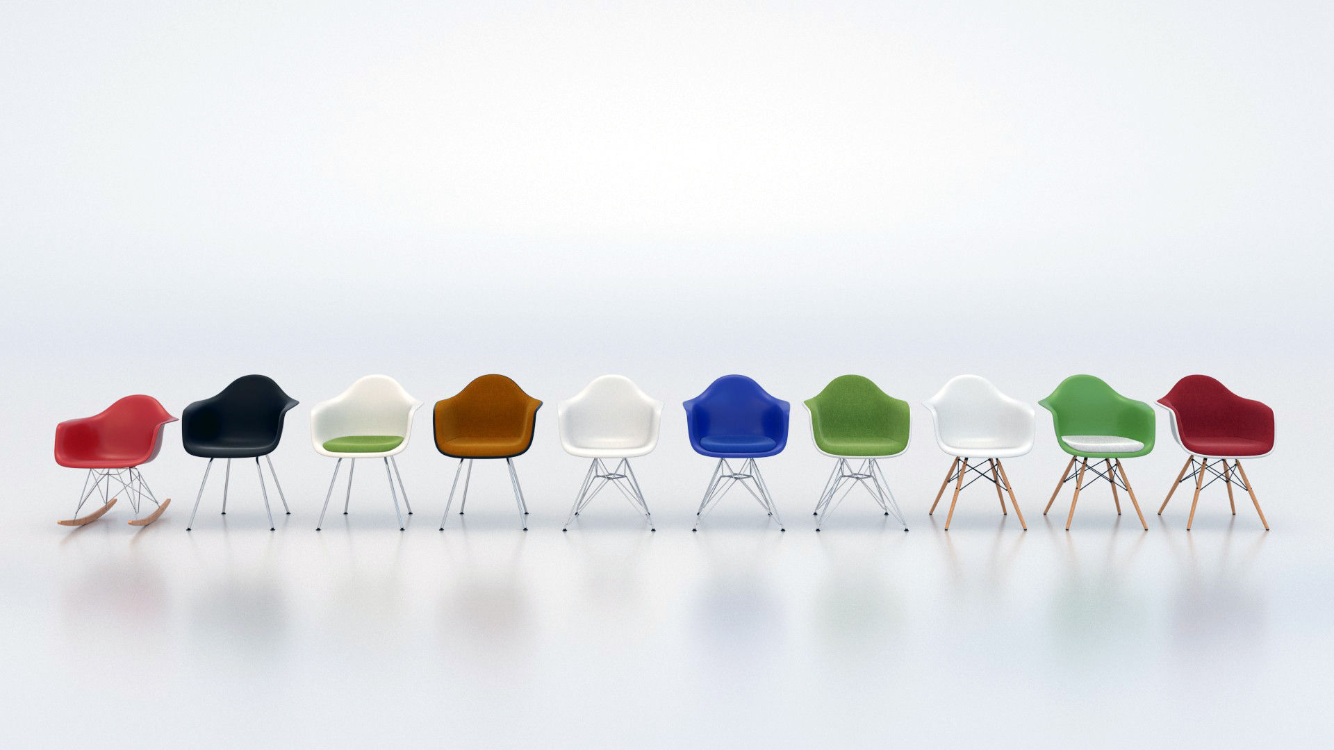 vitra eames plastic armchair daw dar dax rar 3d model fbx c4d blend 3. Vitra Eames plastic armchair DAW DAR DAX RAR 3D model FBX C4D BLEND