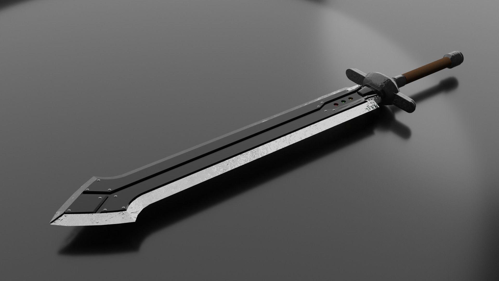 Iron Blade - Final Fantasy VII Remake