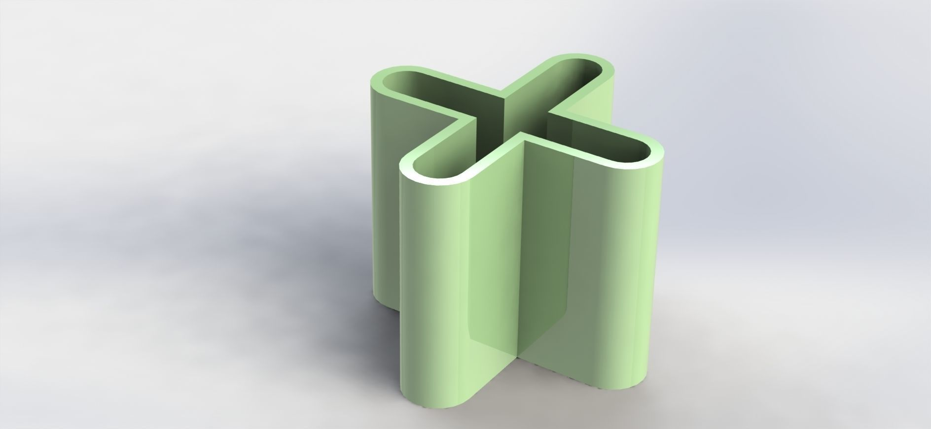 X Pen Holder Simple
