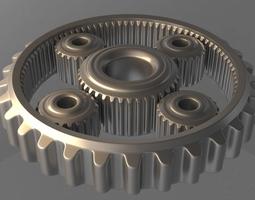 3d animated gears