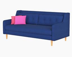 West Elm Crosby Sofa 3D