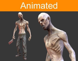 Character Zombie 3D asset