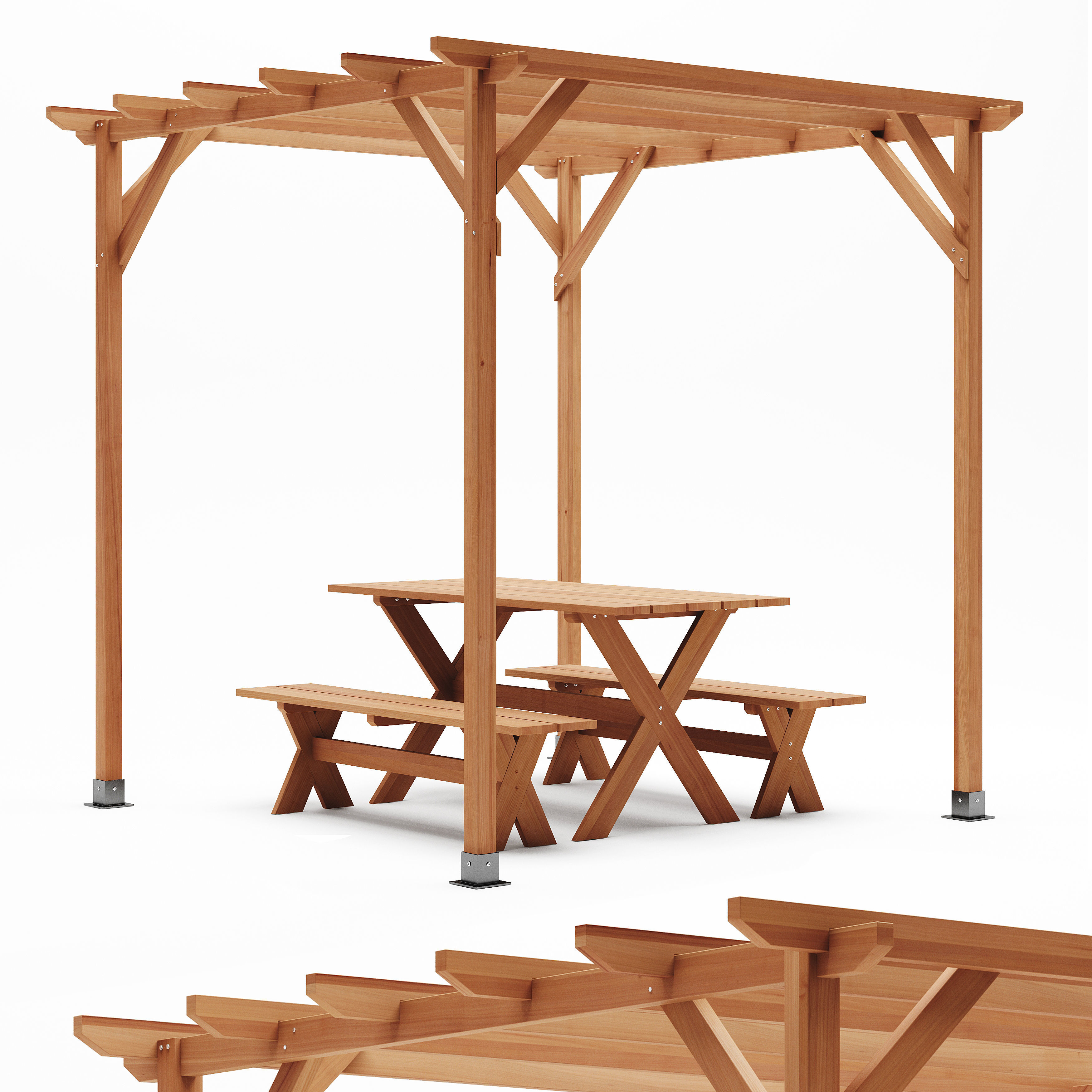 Merry Products Picnic Table Set