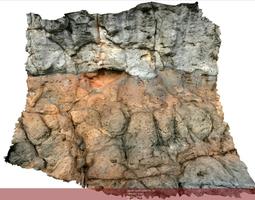 3d asset realtime volcanic rock scenario ii