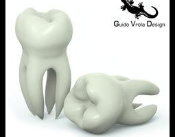 Molar Tooth 3D Model