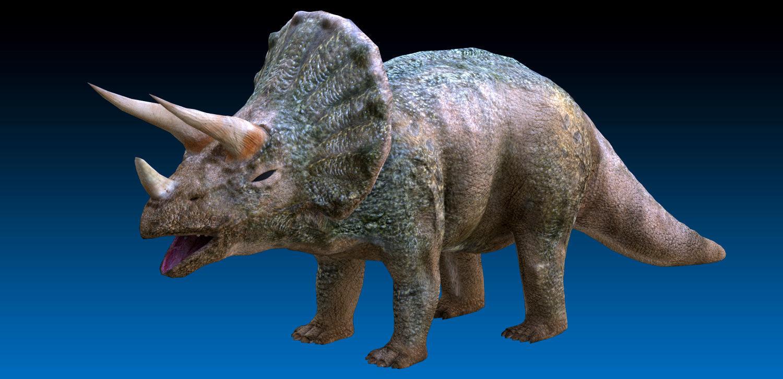 Triceratops Jurassic Dinosaur