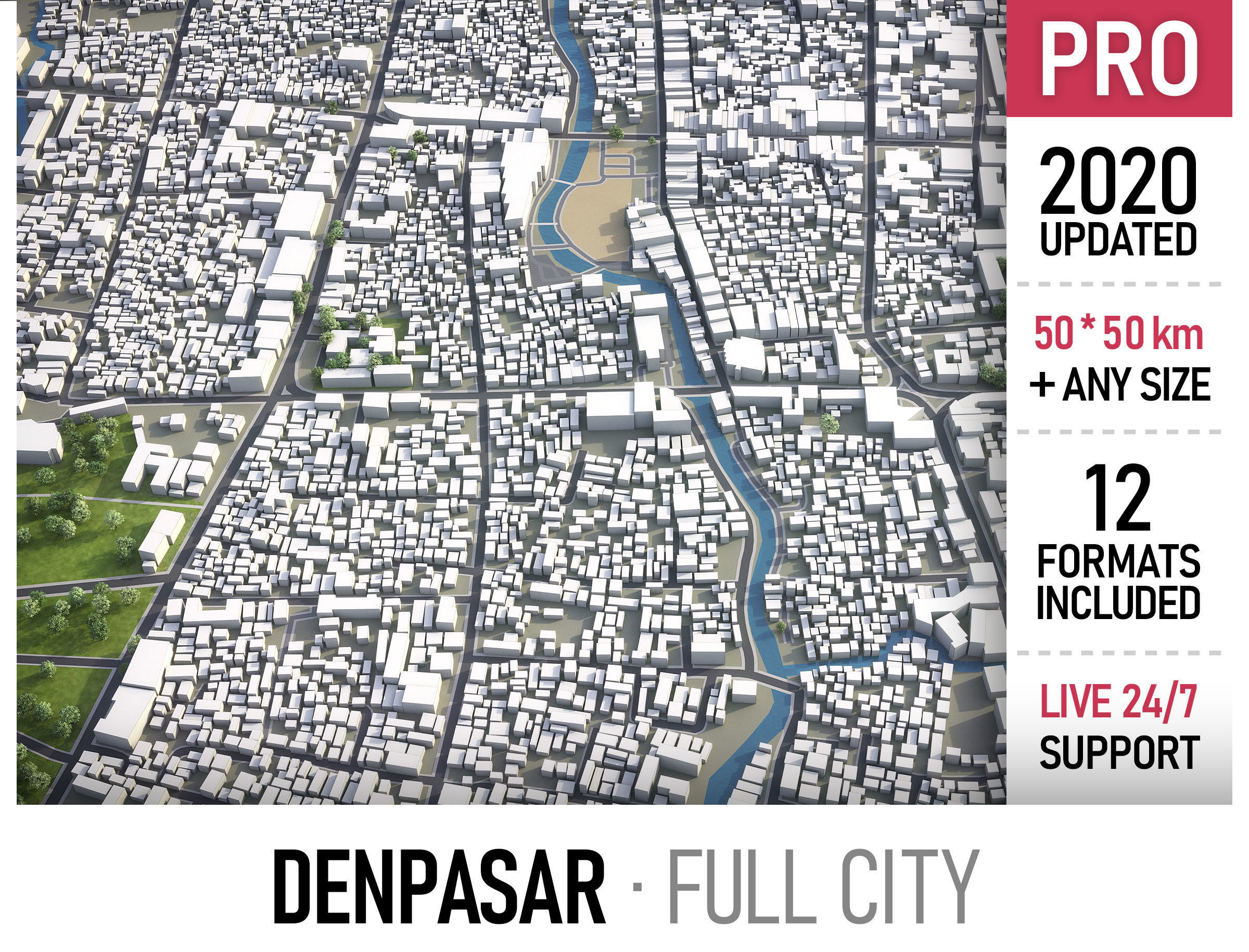 Denpasar - city and surroundings