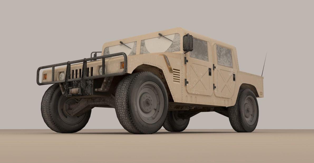 Hummer | 3D model