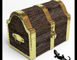 Treasure chest 3D