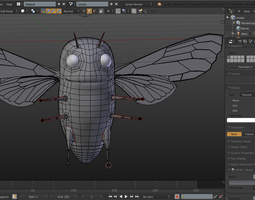 3D model Cicada