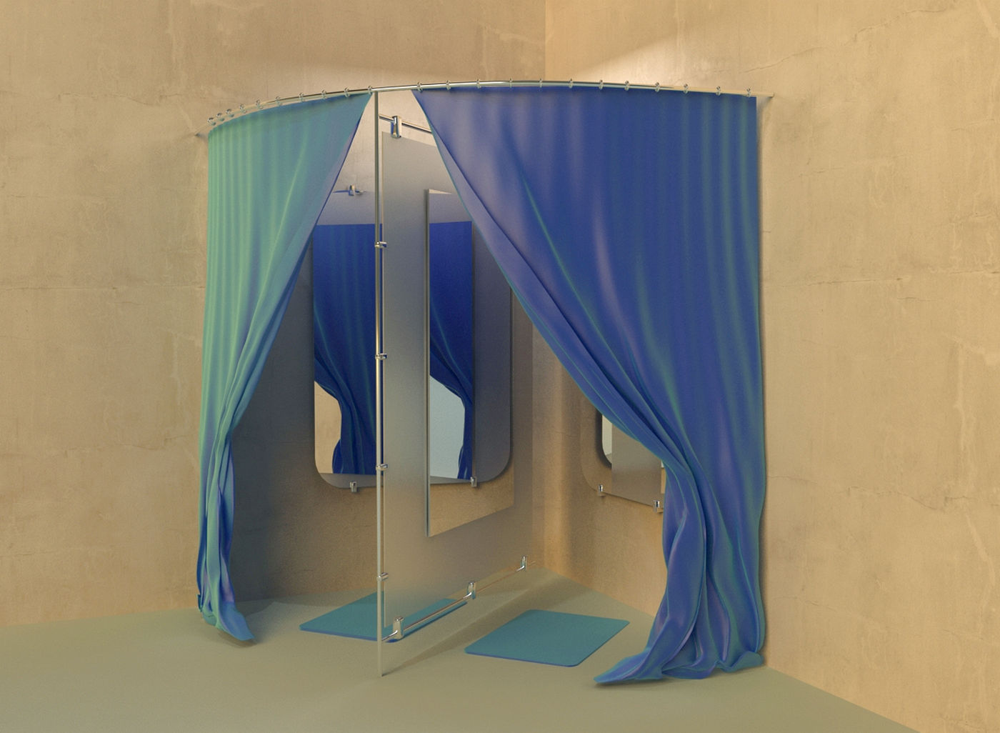 3D Dressing room | CGTrader