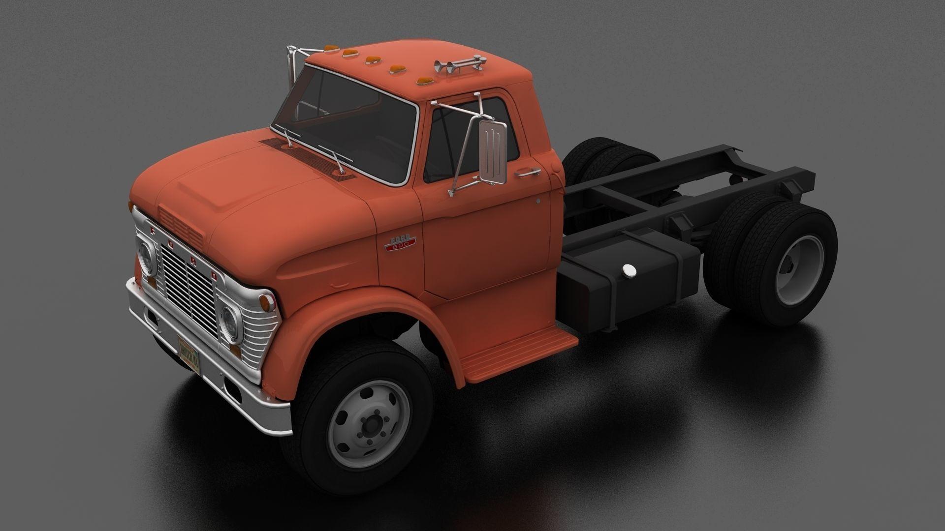 N-Series N-600 Truck Chassis 1963