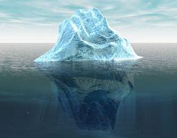 Iceberg 3D Model