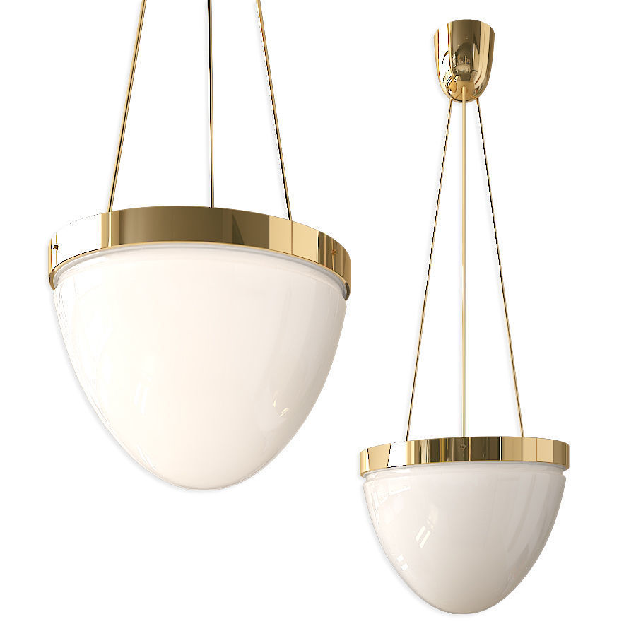 Brass Moon Ceiling Lamp by Lars Bylund