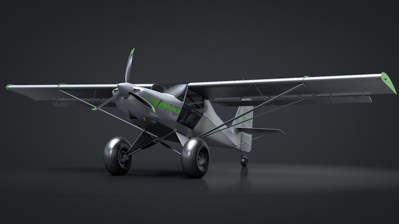 Kit Fox S7 STI Titan C4D Rigged