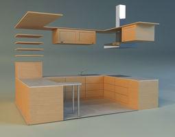 kitchen 10 3d model